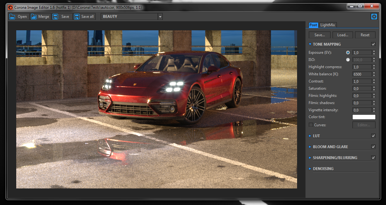 What is the Corona Image Editor? : Corona Renderer Helpdesk for 3ds