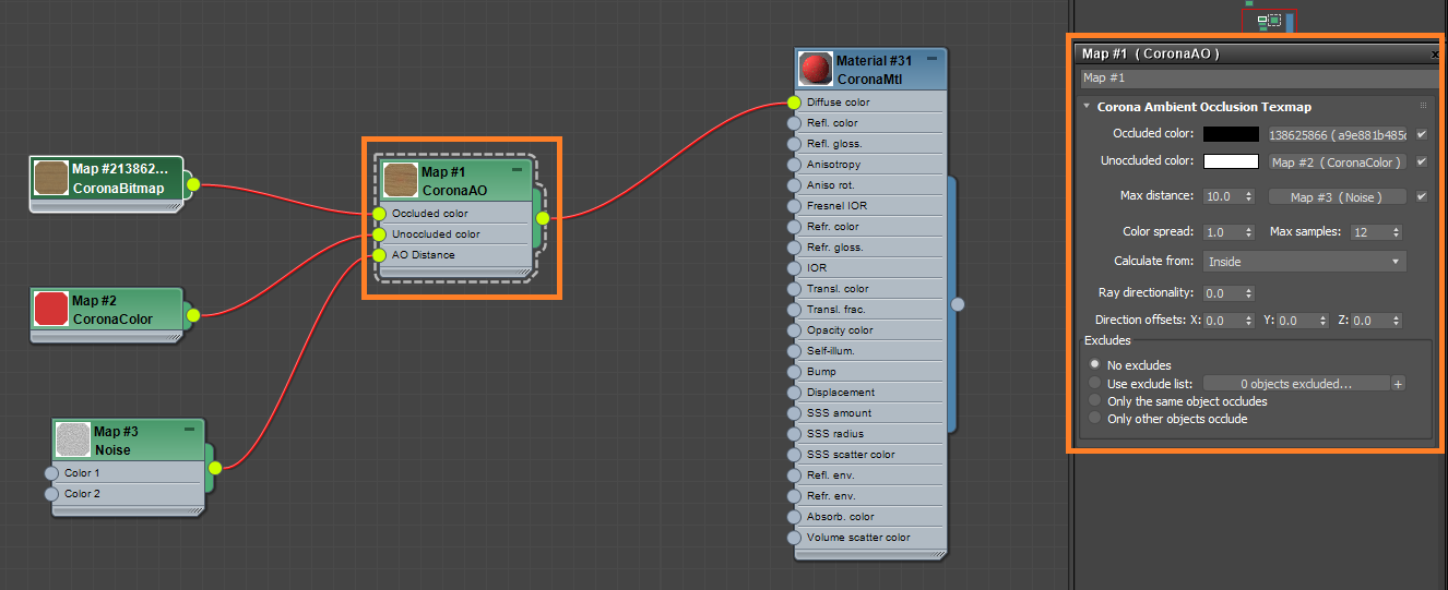 How Can I Add Dirt Worn Off Effect To My Objects Corona Renderer Helpdesk For 3ds Max Plugin