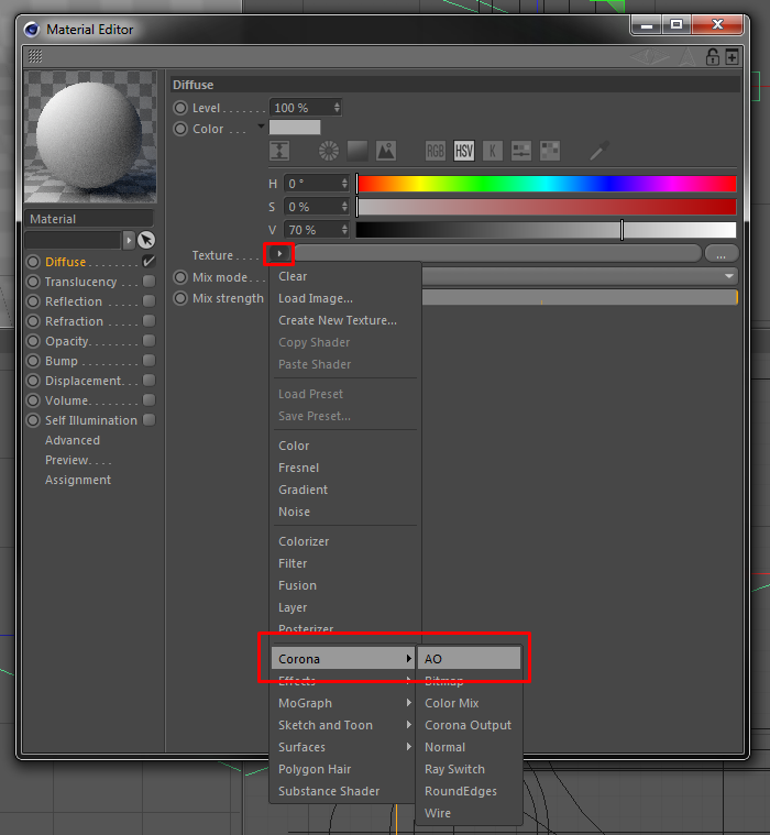 How to use ambient occlusion? : Corona Renderer Helpdesk for