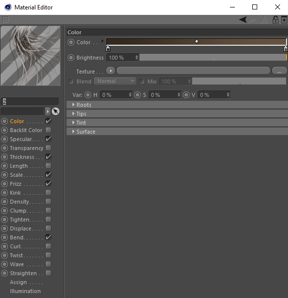 How to work with Cinema 4D's hair with Corona Renderer