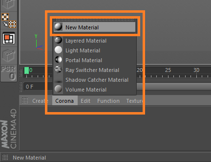 How to create basic materials? : Corona Renderer Helpdesk
