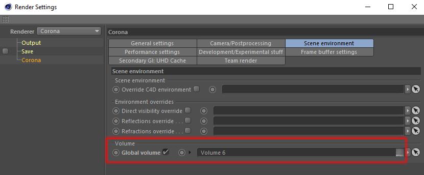 How to use volumetrics? : Corona Renderer Helpdesk for