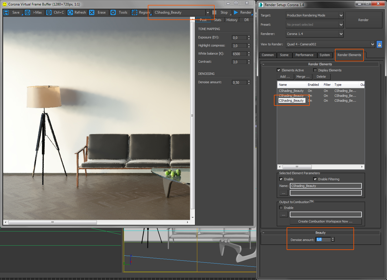 how to use denoising corona renderer helpdesk for 3ds max plugin. Black Bedroom Furniture Sets. Home Design Ideas
