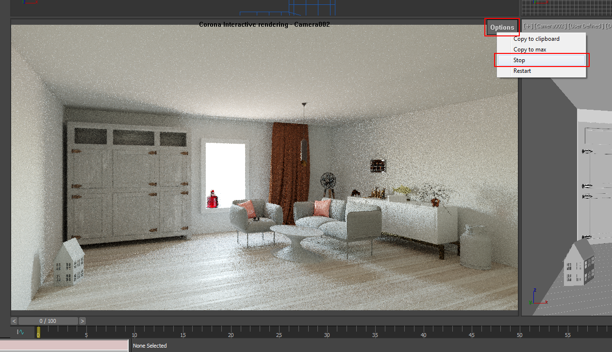 How to use Interactive Rendering? : Corona Renderer Helpdesk
