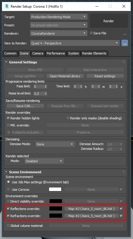 Known bugs and limitations : Corona Renderer Helpdesk for