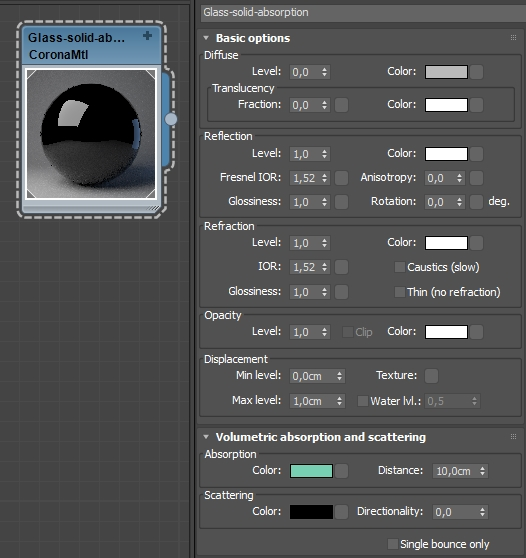 How to set up realistic glass / metal materials : Corona Renderer