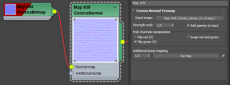 How to use normal maps? : Corona Renderer Helpdesk for 3ds
