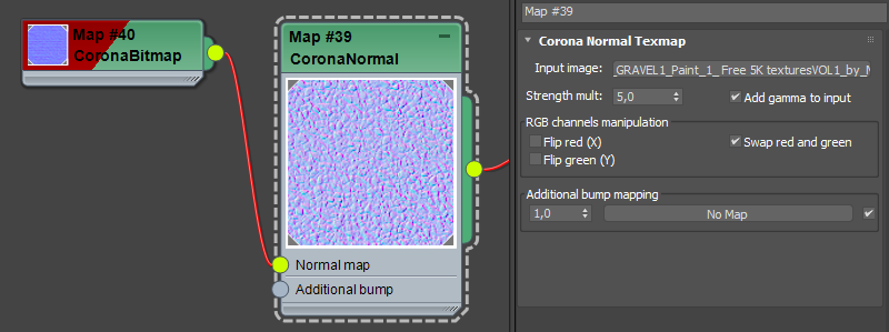 How to use normal maps? : Corona Renderer Helpdesk for 3ds Max plugin