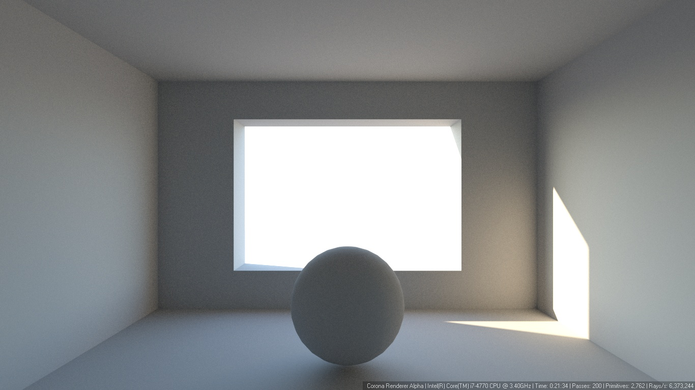 How many passes is enough? : Corona Renderer Helpdesk for