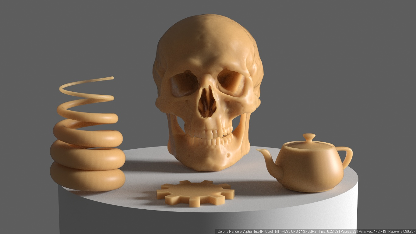 How to use subsurface scattering? (pre-1 7 guide) : Corona