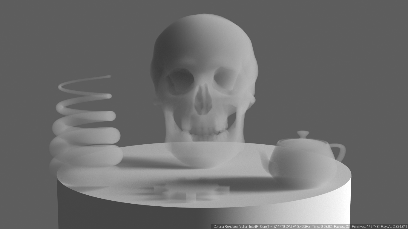 How to use subsurface scattering? (pre-1 7 guide) : Corona Renderer